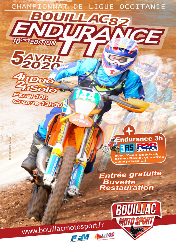 Endurance 2020 Bouillac MotoSport